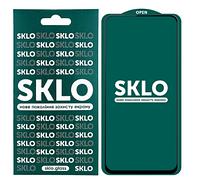 Захисне скло SKLO 5D (full glue) для Xiaomi Redmi Note 9 / Redmi 10X