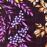 Рябина 352-19, павлопосадский платок шерстяной  с шерстяной бахромой, фото 5
