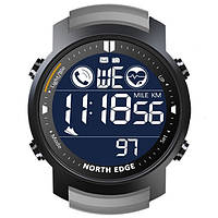 Мужские спортивные часы North Edge Laker 5BAR с противоударным стеклом