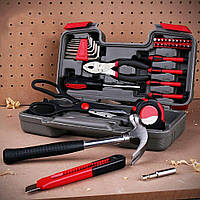 Бытовой набор инструментов в кейсе 39 предметов