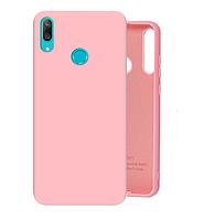 Чехол Silicone Case Full для Huawei Y6s Pink