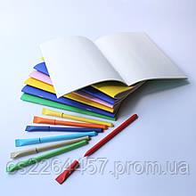Набор блокнотов с цветной обложкой на выбор, в формате тетради