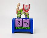 """Подарунок новорічний """"Щастя назавжди"""": Кіт - вічний календар, Новорічне печиво з передбаченнями, чай, фото 7"""