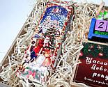 """Подарунок новорічний """"Щастя назавжди"""": Кіт - вічний календар, Новорічне печиво з передбаченнями, чай, фото 8"""