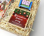 """Подарунок новорічний """"Щастя назавжди"""": Кіт - вічний календар, Новорічне печиво з передбаченнями, чай, фото 9"""