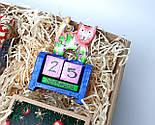 """Подарунок новорічний """"Щастя назавжди"""": Кіт - вічний календар, Новорічне печиво з передбаченнями, чай, фото 10"""