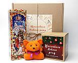 """Бокс новогодний  """"Счастье приносит Лисенок"""": новогоднее печенье с предсказаниями, набор чая, лисенок-талисман, фото 2"""