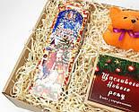 """Бокс новогодний  """"Счастье приносит Лисенок"""": новогоднее печенье с предсказаниями, набор чая, лисенок-талисман, фото 7"""