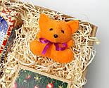 """Бокс новогодний  """"Счастье приносит Лисенок"""": новогоднее печенье с предсказаниями, набор чая, лисенок-талисман, фото 8"""