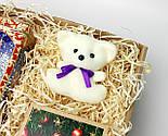 """Бокс новогодний  """"Мой медвежонок"""": новогоднее печенье с предсказаниями, набор чая, междвежонок-талисман, фото 6"""