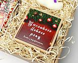 """Бокс новогодний  """"Мой медвежонок"""": новогоднее печенье с предсказаниями, набор чая, междвежонок-талисман, фото 7"""