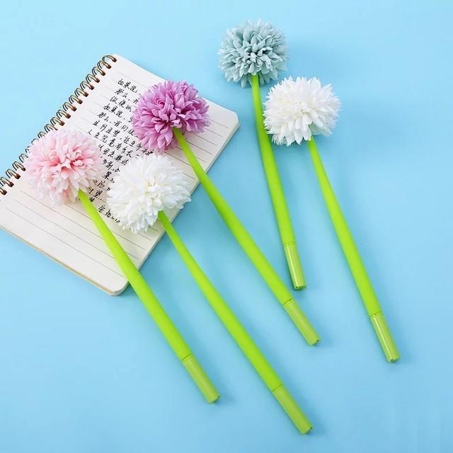 ручка в виде цветка фото