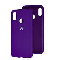 Чехол Silicone Case Full для Huawei Y6s Grape