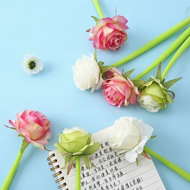 гелевая ручка Роза фото