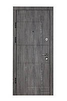 Двери входные металлические Булат К6 850*2050/950*2050 166 Дуб Шале Графит/ Дуб Шале Седой