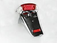 Стоп в сборе Viper STORM с хромированным брызговиком LED