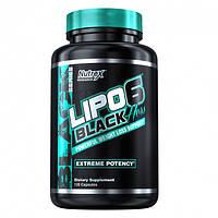 Жиросжигатель Nutrex LIPO 6 Black Ultra Concentrate (120 капс.)