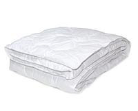 Легкое одеяло двуспальное Евро 200*210 стеганое_хлопковое волокно_бязь Голд (4413)