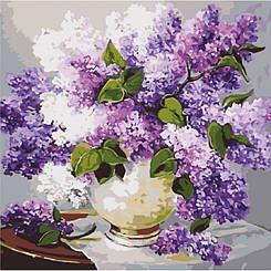 Картины по номерам - Весеннее благоухание | Идейка™ 40х40 см. | КН2085
