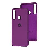 Чехол Silicone Case Full для Huawei Y6s Purple