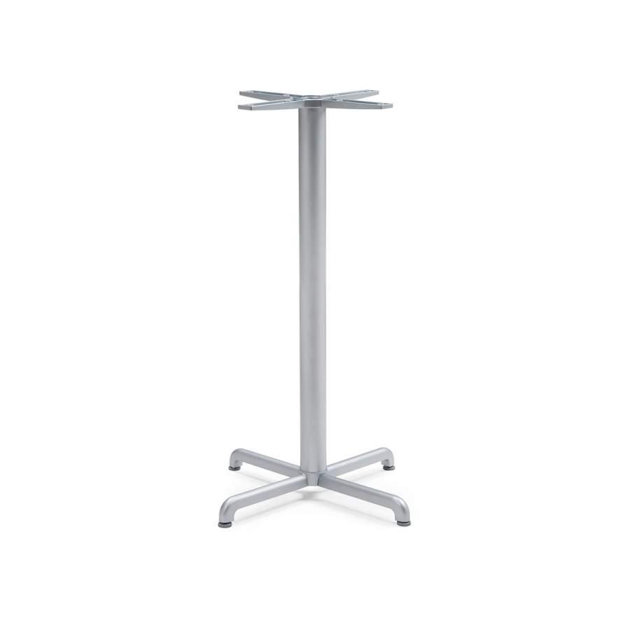 Основа для високого стола Calice Alu h107см argento