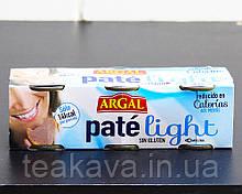 Паштет печеночный свиной низкокалорийный Argal Pate light, 3шт*80г (Испания)