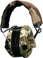 Активні навушники SORDIN Supreme Pro X з LED ліхтарем CAMO