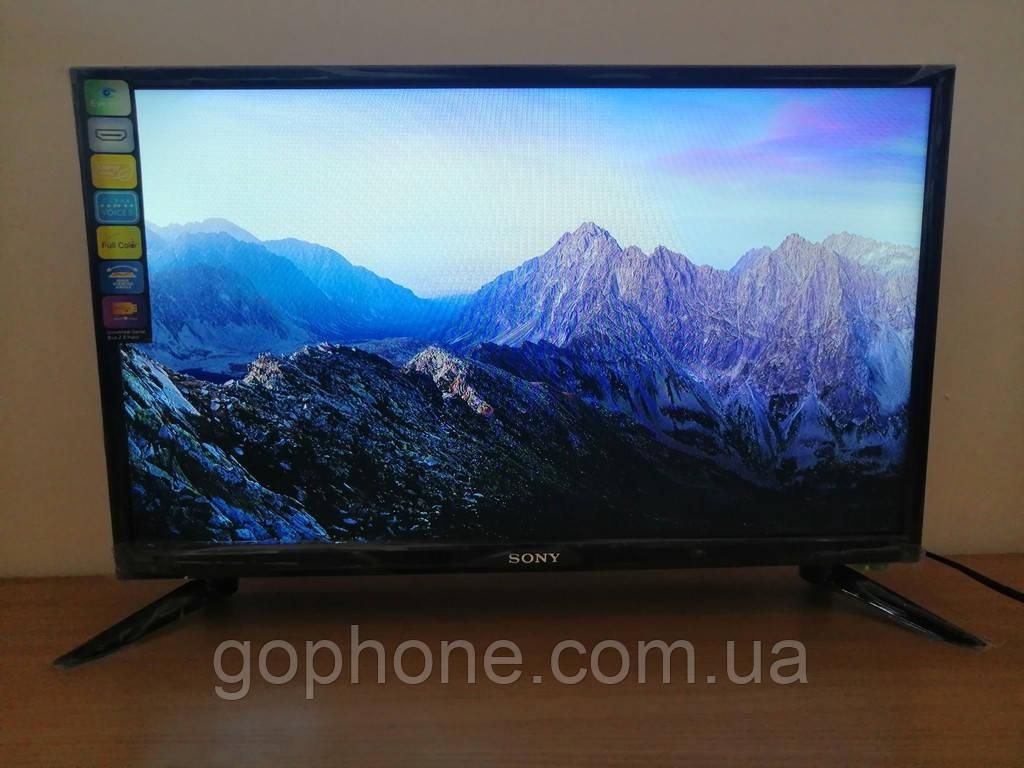 """LED телевизор Sony 24"""" СМАРТ приставка в ПОДАРОК (FullHD/DVB-T2/USB)"""