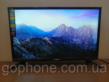 """LED телевизор Sony 24"""" СМАРТ приставка в ПОДАРОК (FullHD/DVB-T2/USB), фото 2"""