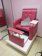 Педикюрное кресла с кожзама , мебель для салонов красоты