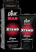 Стимулирующий крем для мужчин  с экстрактом гинкго и женьшеня Pjur MAN Xtend Cream 50 ml