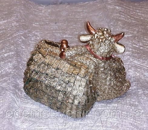 Скарбничка Бичок біля гаманця, фото 2