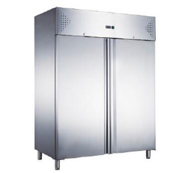 Морозильный шкаф Hurakan HKN-GX1410BT INOX