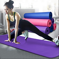 Коврик для йоги и фитнеса Power System Fitness Yoga Фиолетовый
