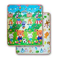 Розвиваючий двухстронній дитячий ігровий термо килимок для повзання 1500 * 1800 * 5, фото 1