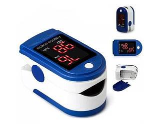 Пульсометр на палець електронний Fingertip Pulse Oximeter LK87 Пульсоксиметр