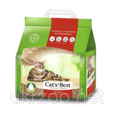 Подстилка Cats Best ORIGINAL (ЭКО ПЛЮС) 10L/4,3 kg