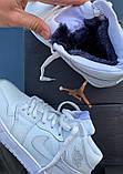 Високі кросівки в стилі найк Джордан на хутрі Air Jordan Retro What Black, фото 7