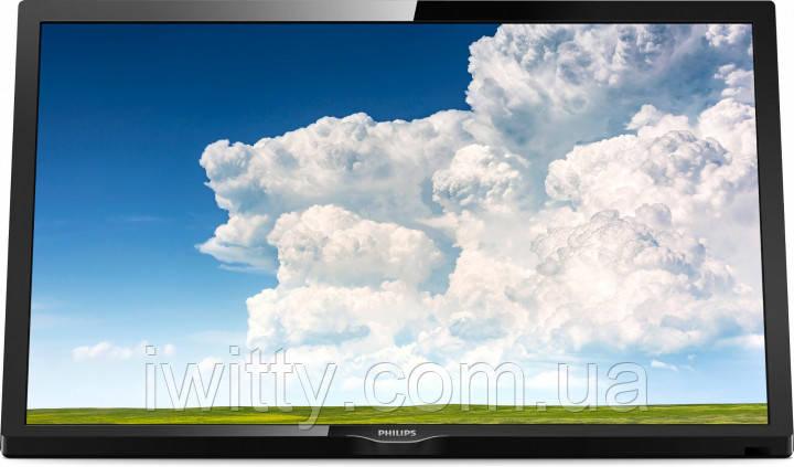 """Телевизор Филипс Philips 24"""" + ПОДАРОК Full HD/DVB-T2/USB (1920×1080)"""
