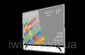 """Телевизор Ergo Ерго 22"""" + ПОДАРОК Full HD/DVB-T2/USB (1080р), фото 2"""