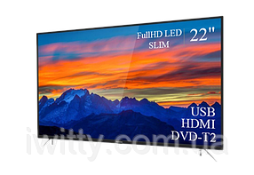 "Телевизор Томсон Thomson 22"" + ПОДАРОК FullHD/DVB-T2/USB (1080р), фото 2"