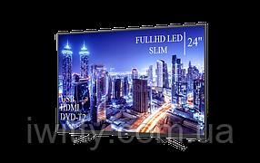 "Телевизор JVC 24"" + ПОДАРОК FullHD+DVB-T2+USB, фото 2"
