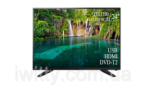 "Телевизор Toshiba 24"" + ПОДАРОК FullHD+DVB-T2+USB, фото 2"