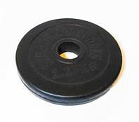 Блины черные обрезиненные 1.25 кг