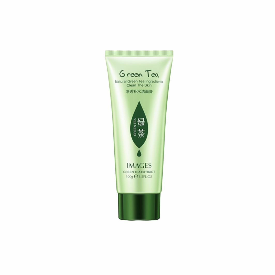 Пенка для умывания с экстрактом зеленого чая Images Beauty Green Tea Clean The Skin