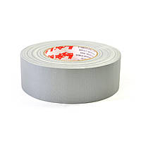 Матовая клейкая лента Le Mark MAGTAPE™ MATT Tape Cloth LM 500 50mm X 50m SILVER (CT50050S), фото 1