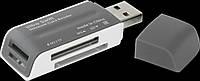 Cardreader Defender Ultra Swift USB2.0, 4 слота №83260