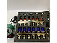 Коллектор GROSS в сборе с насосом на 6 выходов, фото 1