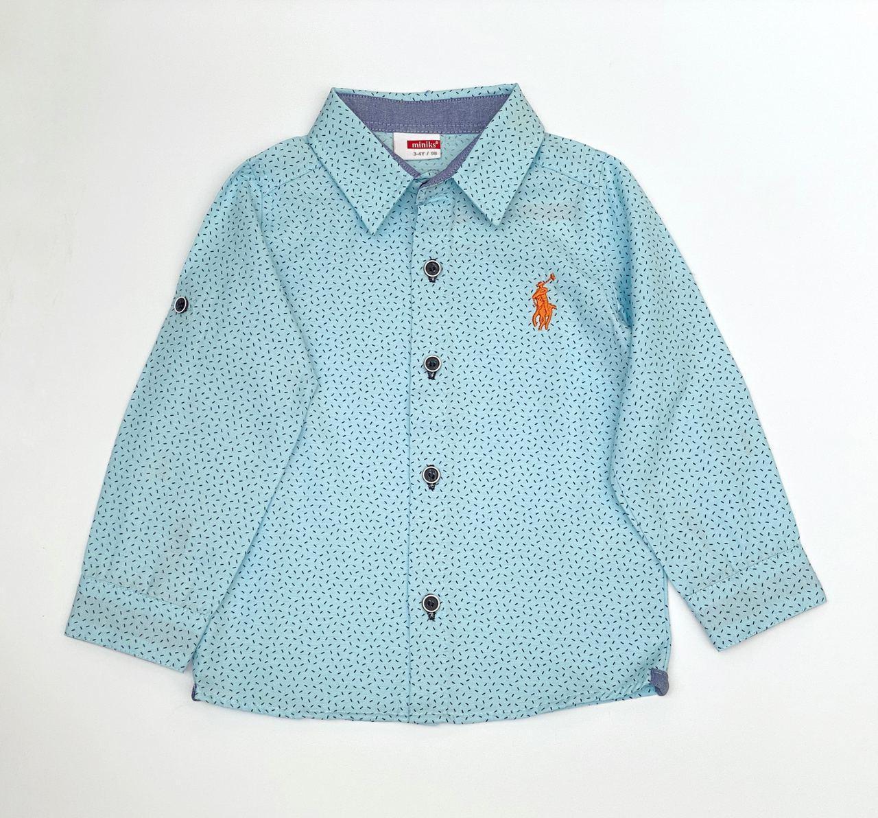 Рубашка для мальчика, 2, 3, 6 л.