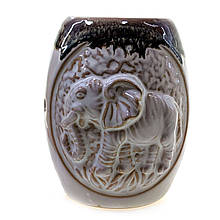 Аромалампа керамическая Слон